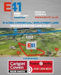 Thumbnail Industrial for sale in Bowscar, Penrith