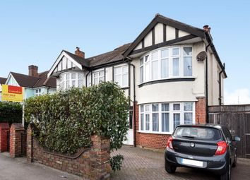 Thumbnail 3 bed semi-detached house for sale in Tolworth Rise North, Surbiton