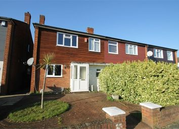 Thumbnail 3 bedroom end terrace house to rent in Beverley Close, London