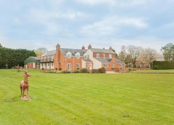 Thumbnail 6 bed detached house for sale in Burgh Road, Friskney, Boston, Lincolnshire