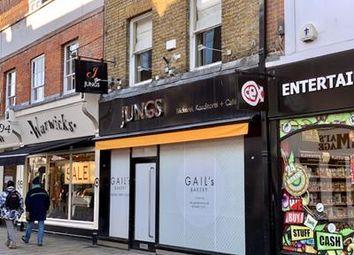 Thumbnail Retail premises for sale in Peascod Street, Windsor