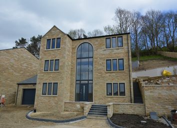 Thumbnail 4 bed detached house for sale in New Mill Road, Holmfirth