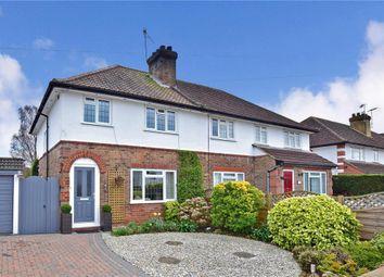 Thumbnail 3 bed semi-detached house for sale in Estridge Way, Tonbridge, Kent
