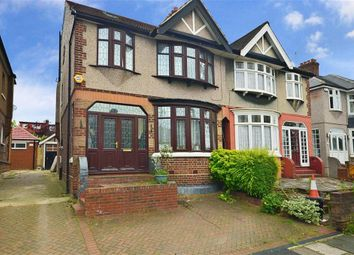 Thumbnail 4 bedroom semi-detached house for sale in Herent Drive, Ilford, Essex