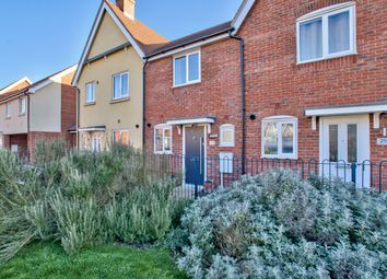 Thumbnail 2 bed terraced house for sale in Crocus Close, St. Neots, Cambridgeshire
