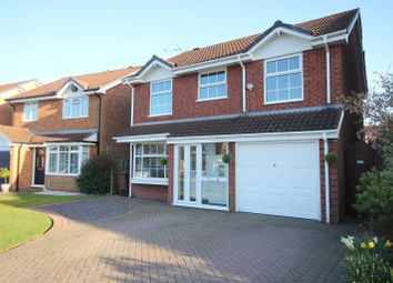 Thumbnail 4 bed detached house for sale in Montsford Close, Knowle, Solihull