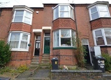 Thumbnail 4 bed terraced house to rent in Lorne Road, Clarendon Park, Leicester