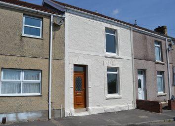 Thumbnail 3 bed terraced house for sale in Bryn Street, Brynhyfryd, Swansea