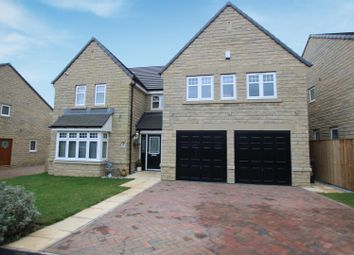 5 bed detached house for sale in Moorbank Drive, Shelf, Halifax HX3