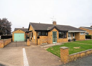 Thumbnail 2 bed semi-detached bungalow for sale in Garrick Close, Lincoln