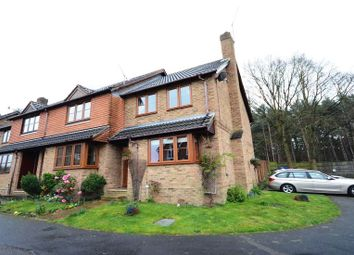 Thumbnail 3 bed end terrace house to rent in Cannon Close, College Town, Sandhurst