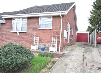 Thumbnail 2 bedroom semi-detached bungalow for sale in Worcester Close, Scunthorpe