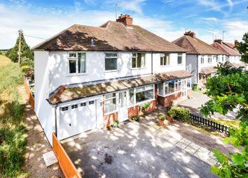 Thumbnail 4 bed semi-detached house for sale in Steventon Road, Drayton, Abingdon