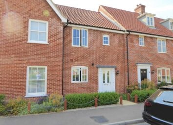 Thumbnail 3 bed terraced house to rent in Warren Avenue, Saxmundham
