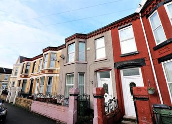 Thumbnail 4 bed terraced house for sale in Kenilworth Road, Wallasey