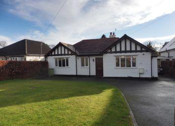 Thumbnail 3 bed detached bungalow for sale in Parkgate Road, Parkgate, Neston