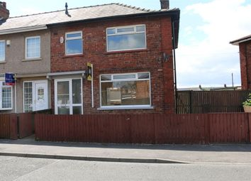 Thumbnail 3 bedroom end terrace house to rent in Cranfield Avenue, Middlesbrough