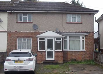 Thumbnail 3 bed semi-detached house for sale in Lyon Park Avenue, Wembley, Middlesex