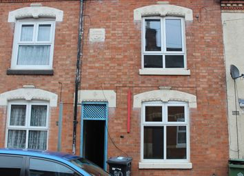 Thumbnail 2 bed terraced house to rent in Myrtle Road, Highfields, Leicester
