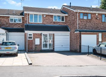 Thumbnail 3 bed terraced house for sale in De Marnham Close, West Bromwich
