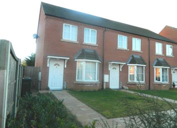 Thumbnail 3 bedroom end terrace house for sale in Rookery Park, Lincoln