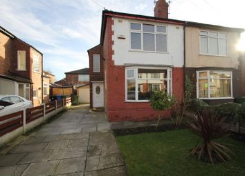 Thumbnail 2 bed semi-detached house for sale in Skelton Road, Stretford, Manchester