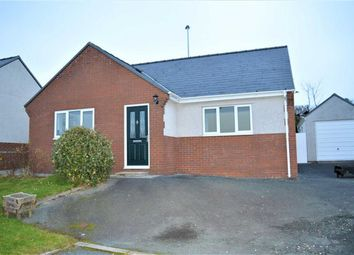 Thumbnail 2 bed bungalow to rent in 6, Maes Y Dderwen, Llanbrynmair, Powys