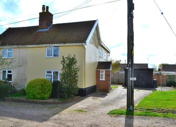 Thumbnail 3 bed semi-detached house for sale in The Common, Harleston