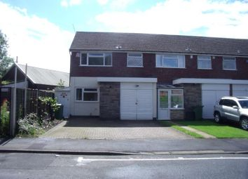Thumbnail 3 bedroom semi-detached house to rent in Holt Road, Halesowen, West Midlands
