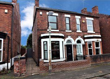 Thumbnail 3 bedroom semi-detached house for sale in Northwood Street, Stapleford, Nottingham