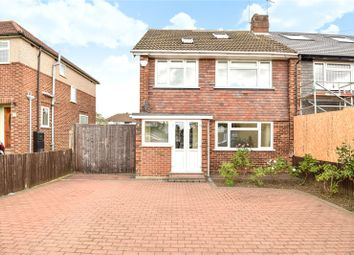 Thumbnail 4 bed semi-detached house for sale in Queens Walk Terrace, Queens Walk, Ruislip, Middlesex
