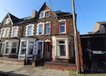 Thumbnail 4 bed end terrace house for sale in Dalton Street, Cathays, Cardiff