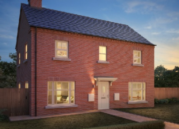 Thumbnail 4 bed detached house for sale in The Bologna, Resevoir Road, Burton Upon Trent, Staffordshire