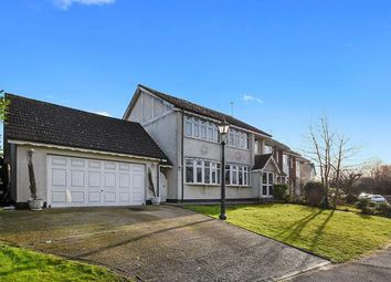 Thumbnail 6 bed end terrace house for sale in Wingrave Crescent, Brentwood, Essex