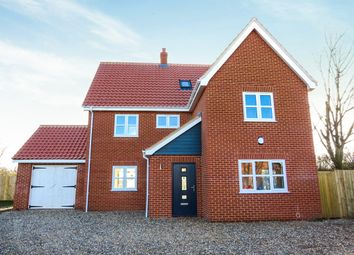 Thumbnail 5 bed detached house for sale in Chapel Street, Rockland St. Peter, Attleborough