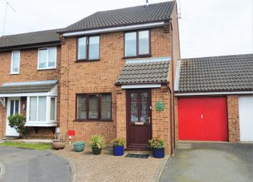 Thumbnail 3 bed semi-detached house for sale in Brashland Drive, Wootton, Northampton