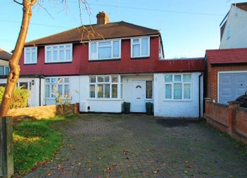 Thumbnail 4 bed semi-detached house for sale in Cedarcroft Road, Chessington