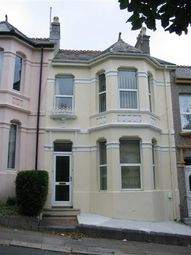 Thumbnail 3 bed town house to rent in Seymour Avenue, Greenbank, Plymouth