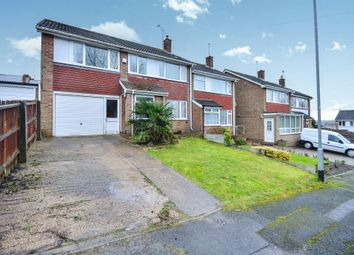 Thumbnail 4 bed semi-detached house for sale in Attewell Road, Awsworth, Nottingham