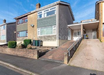Thumbnail 3 bed semi-detached house for sale in Lawrence Hill Avenue, Newport