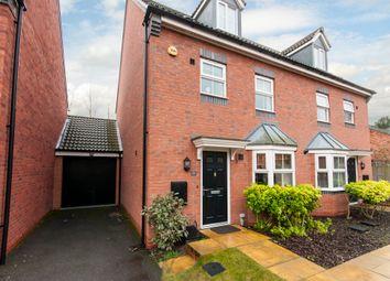 Thumbnail 4 bedroom semi-detached house for sale in Gough Grove, Long Eaton, Long Eaton, Nottinghamshire