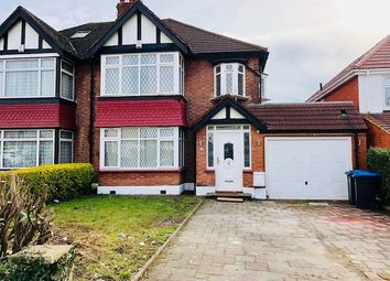 Thumbnail 5 bed semi-detached house to rent in Kingsway, Wembley