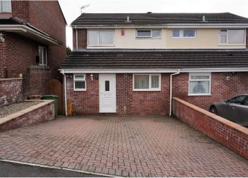 Thumbnail 3 bed semi-detached house for sale in Robyns Close, Plymouth