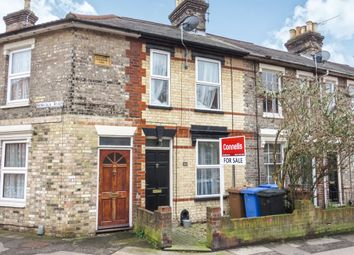 Thumbnail 2 bed terraced house for sale in Hervey Street, Ipswich