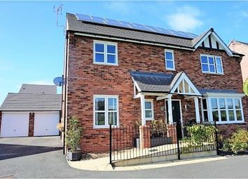 Thumbnail 4 bed detached house for sale in Telford Avenue, Ellesmere, Shropshire