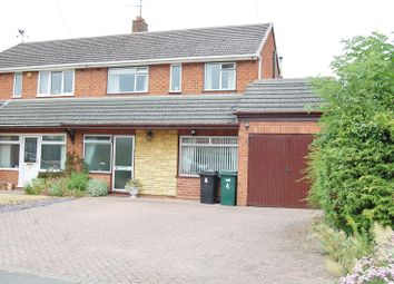 Thumbnail 3 bed semi-detached house for sale in Charles Avenue, Albrighton, Wolverhampton