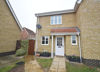 Thumbnail 2 bed semi-detached house for sale in Oxford Drive, Hadleigh, Ipswich