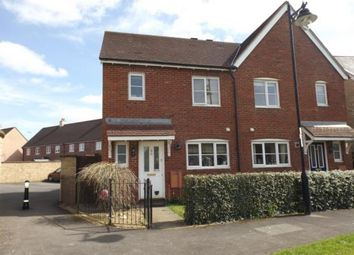 Thumbnail 3 bed semi-detached house for sale in Marlott Road, Gillingham