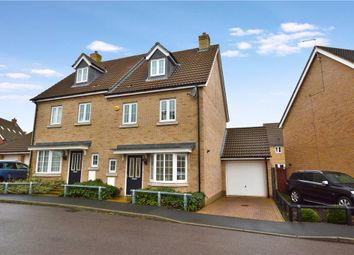 Thumbnail 4 bed semi-detached house for sale in Harbridge Close, Stansted
