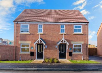 Thumbnail 2 bedroom semi-detached house for sale in Snowdrop Avenue, Newark, Notts